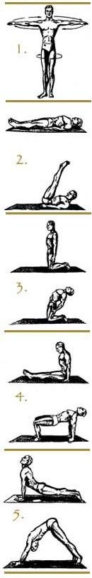 Tibetaanse Yoga Oefeningen